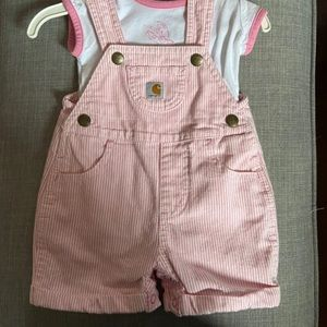 Baby Carhartt Overall Outfit